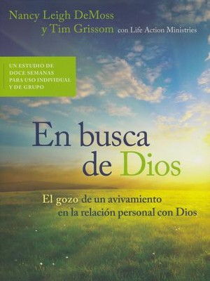 En Busca de Dios  (Seeking Him)  -     By: Nancy Leigh DeMoss, Tim Grissom
