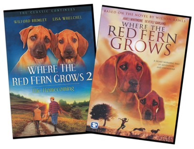 Where the Red Fern Grows (Part 1 & 2) on DVD   -