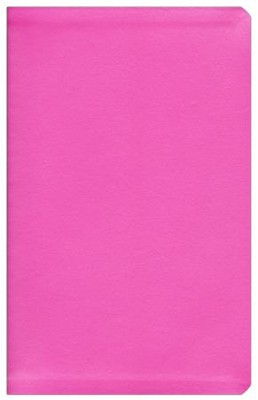NIV Thinline Metallic Collection Bible, Pink  -
