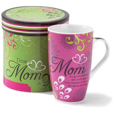 Dear Mom Mug in Gift Box  -