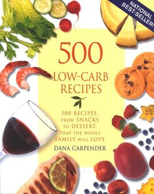 500 Low-Carb Recipes  -     By: Dana Carpender