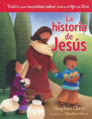 La Historia de Jesús  (The Jesus Book)  -     By: Stephen Elkins