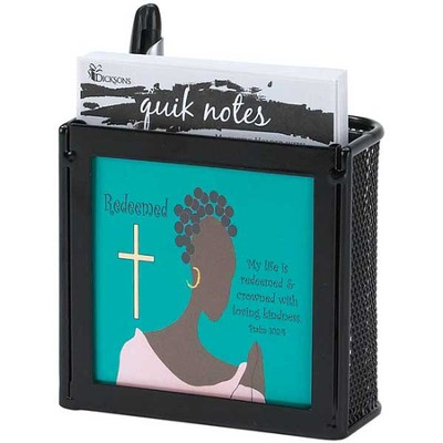 Ebony Womanhood Quick Notes, Redeemed, Psalm 103:4  -