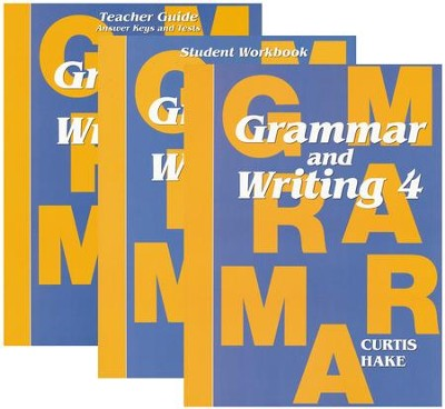 Saxon Grammar & Writing Grade 4 Kit (1st Edition)   -