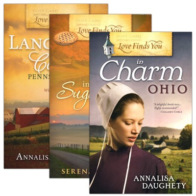 Love Finds You in Amish Country, 3 Volumes   -