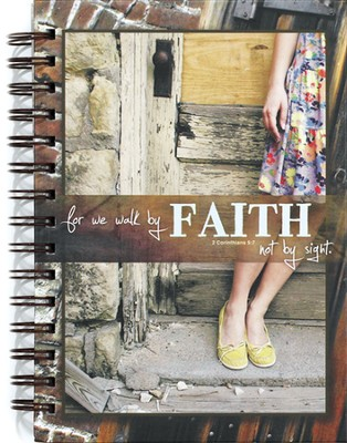 Walk By Faith Journal  -     By: Marla Anders