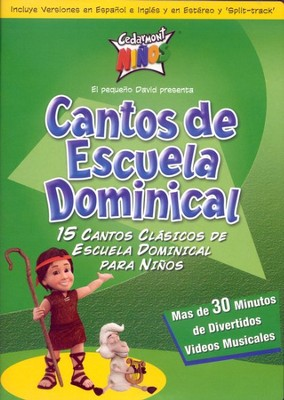Cantos De Escuela Dominical, DVD   -     By: Cedarmont Kids