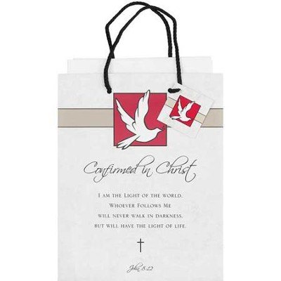 Confirmed in Christ Gift Bag, Medium  -