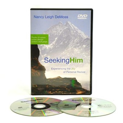 Seeking Him: Experiencing the Joy of Personal Revival, on DVD  -     By: Nancy Leigh DeMoss