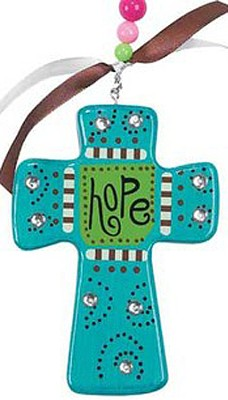 Hope Cross, Blue  -