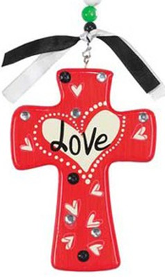 Love Cross, Red  -