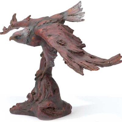 Eagle Figurine, Isaiah 40:31  -