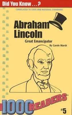 Abraham Lincoln  -     By: Carole Marsh