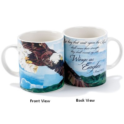 Wings As Eagles Mug  -     By: Marjorie Pesek