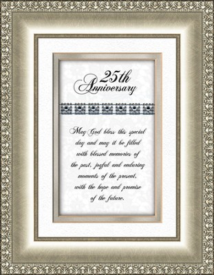 25th Anniversary Framed Print   -