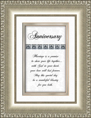 Anniversary (silver frame)  -