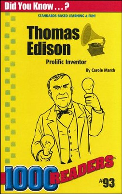 Thomas Edison  -     By: Carole Marsh