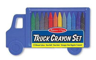Truck Crayon Set, 12 pieces  -