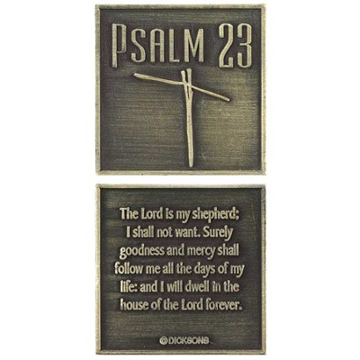 Psalm 23 Pocket Stone  -