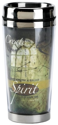 Create In Me Travel Mug  -     By: Marla Anders