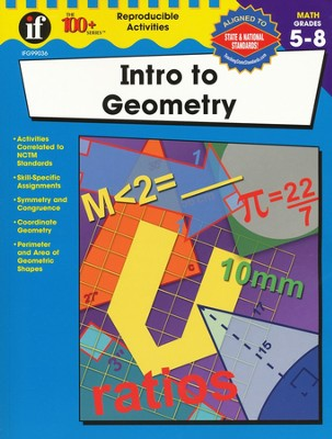 Intro to Geometry, Grades 5 - 8   -