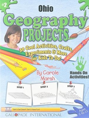 Ohio Geography Project Book  -     By: Carole Marsh