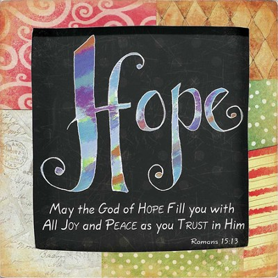 Hope Plaque  -