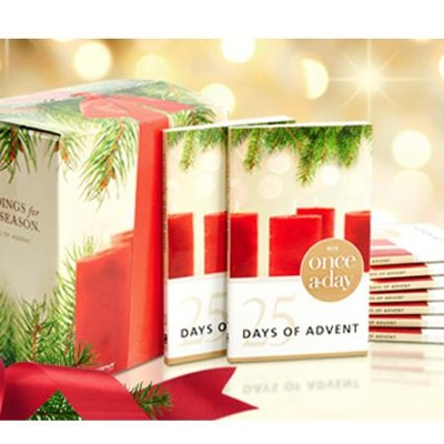 Once-A-Day 25 Days of Advent Devotional, Pack of 20   -     By: Kenneth Boa