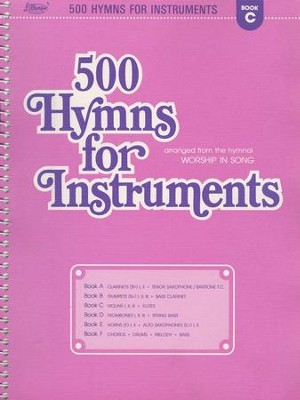 500 Hymns for Instruments Book C  -     By: Harold Lane