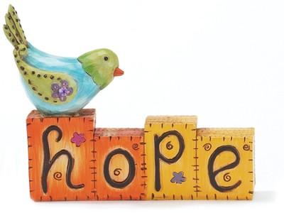 Hope Blocks Figurine  -
