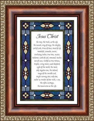 Jesus Christ, Framed Print  -