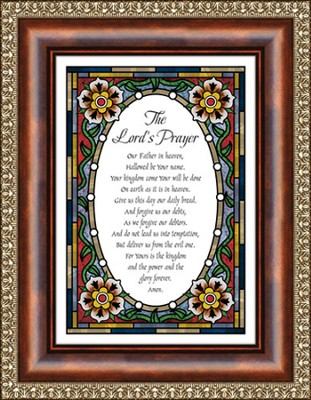 The Lord's Prayer, Framed Print  -