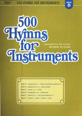 500 Hymns for Instruments Book D  -     By: Harold Lane