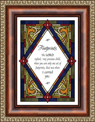 Footprints, Framed Print  -