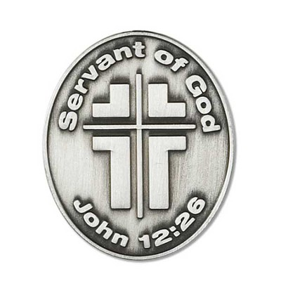 Servant of God Pocket Stone  -