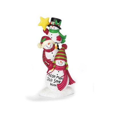 Snowmen Figurine, Wise Men Still Seek Him  -