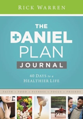 Daniel Plan Journal: 40 Days to a Healthier Life - eBook  -     By: Rick Warren