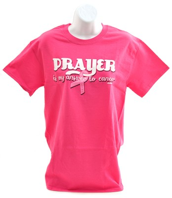 Prayer Ribbon Shirt, Pink, X-Large  -