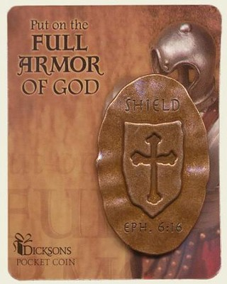 Full Armor of God Pocket Stone, Shield  -