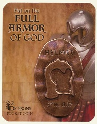 Full Armor of God Pocket Stone, Helmet  -