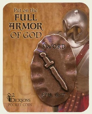 Full Armor of God Pocket Stone, Sword  -