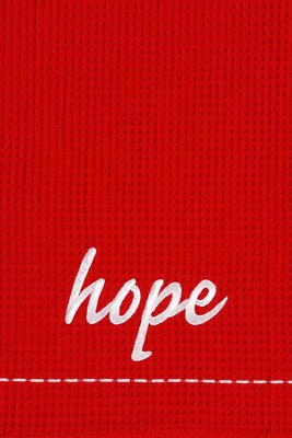 Hope, Christmas Decorative Towel  -