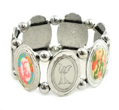 Angel Oval Stretch Bracelet   -