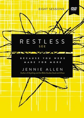 Restless: Because You Were Made for More - eBook  -     By: Jennie Allen