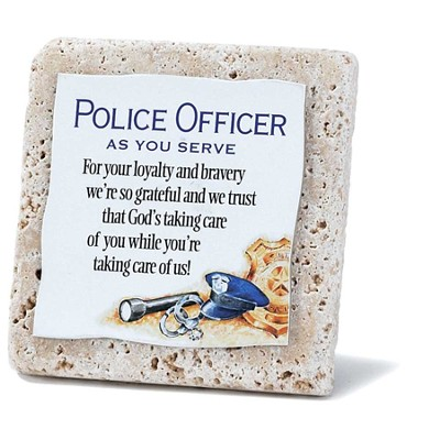 Police Officer Tile  -
