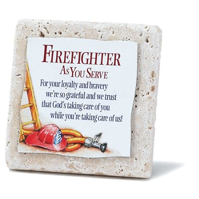 Firefighter Tile  -