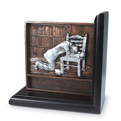 Praying Man Bookend    -