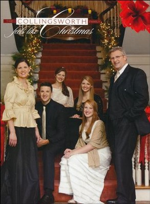 Feels Like Christmas, DVD   -     By: The Collingsworth Family