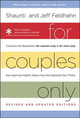 For Couples Only, Boxed Set: With Free Conversation Guide  -     By: Shaunti Feldhahn, Jeff Feldhahn