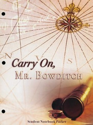 Carry On, Mr. Bowditch Student Notebook Packet   -